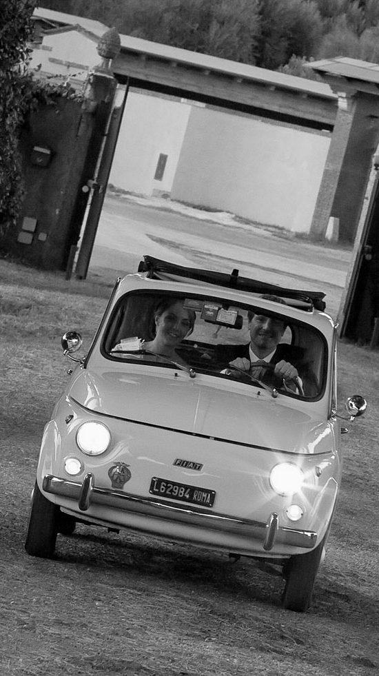 Auto Matrimonio a Roma